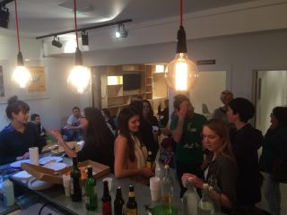 'Twas a pleasure and a privilege to host @CodebarBrighton in @68MiddleSt this evening.
