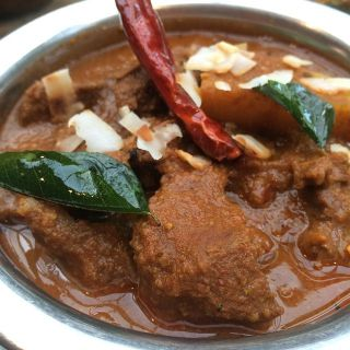 Mutton curry.