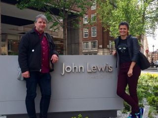 Last day of commuting to London to collaborate with the lovely people at John Lewis. It's been a fun project.