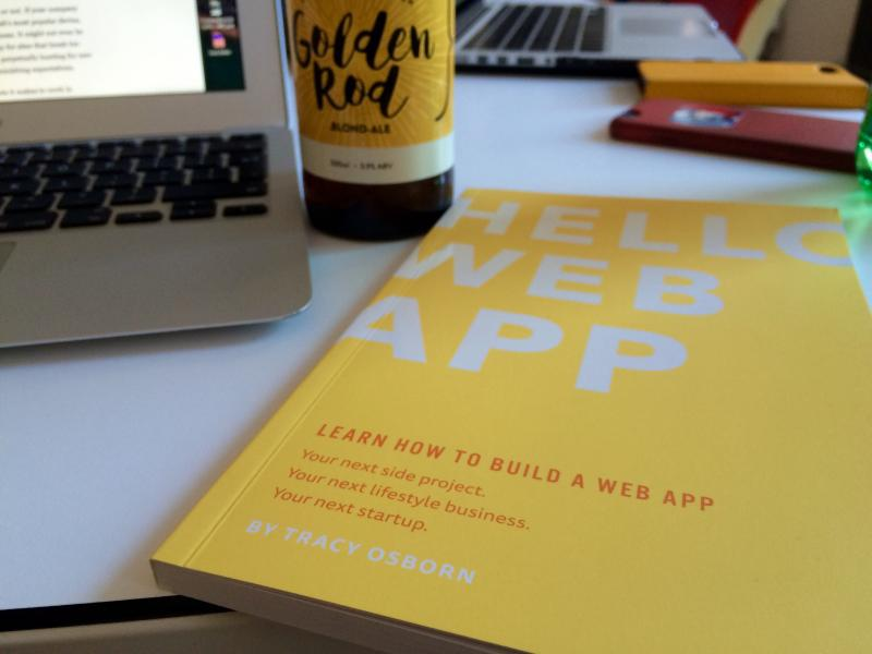 "Getting a lovely new copy of ""Hello Web App"" from @Limedaring. https://hellowebapp.com"