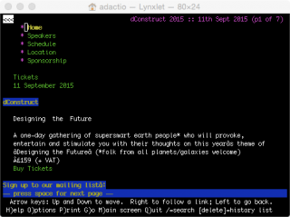 http://2015.dconstruct.org in Lynx.