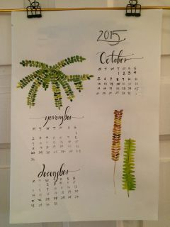 A lovely hand-crafted calendar from @MonikaBansal28.